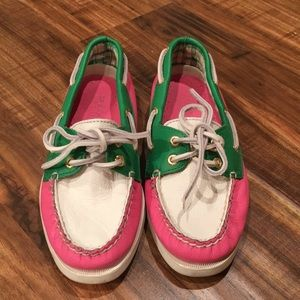 Multi-color Sperry Top-Sider's